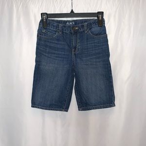 Children's Place Boys Denim Shorts Size 8